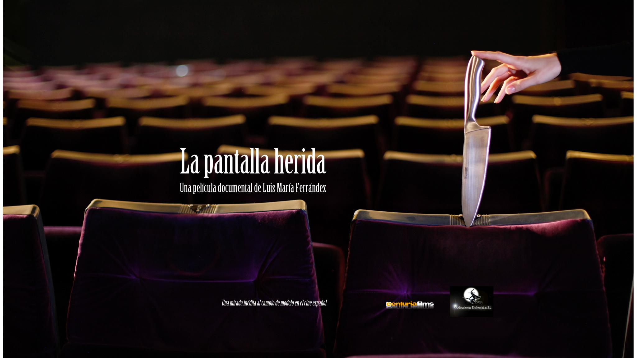 "La Pantalla Herida, Presentamos el teaser del largometraje documental ""La Pantalla Herida"""