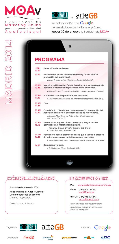 invitacion MOAv Madrid 2014