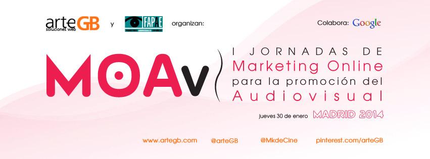 MOAv, MOAv, I Jornadas de Marketing Online para la promoción del Audiovisual