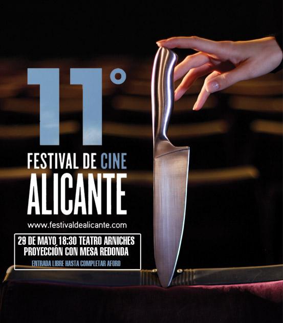 """La Pantalla Herida, Proyección y mesa redonda de """"La Pantalla Herida"""" en el XI Festival de Alicante"""