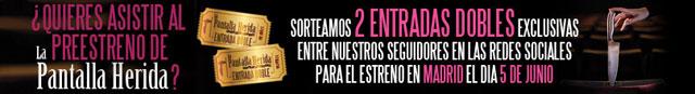 La Pantalla Herida, Te invitamos al estreno de «La Pantalla Herida»
