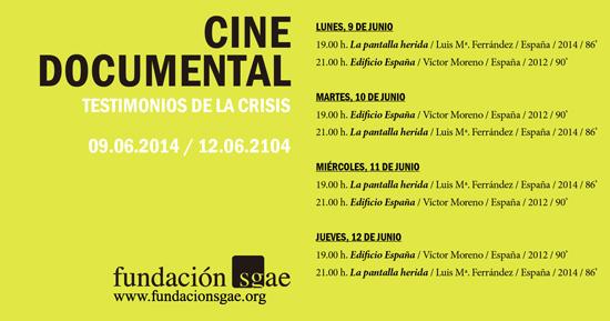 "La Pantalla Herida, ""La Pantalla Herida"" en el ciclo de cine documental de la Sala Berlanga"