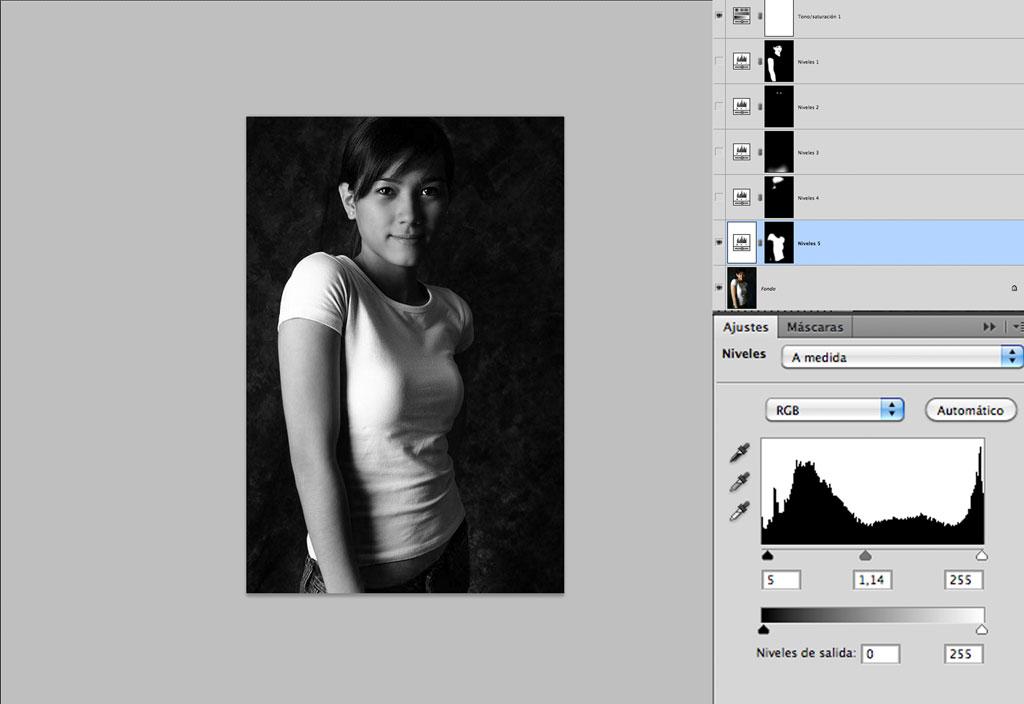 tutorial, Tutorial: acabado fotográfico en blanco y negro