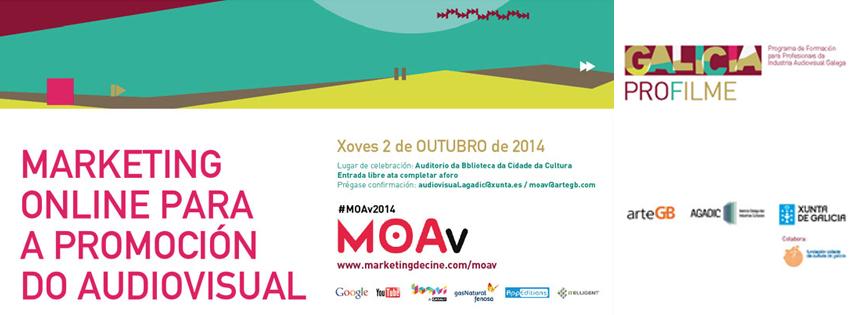 MOAV Galicia 2014, MOAv Galicia 2014: Agadic y ArteGB organizan las II Jornadas de Marketing Online para la promoción del audiovisual