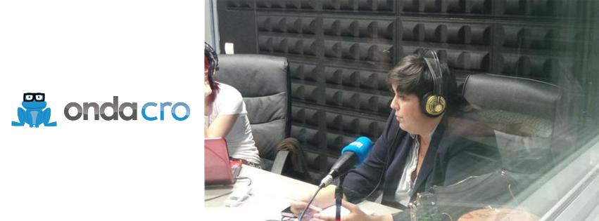 Entrevista a Gloria Bretones, Entrevista a Gloria Bretones en el programa «Los productores» en Onda Cro