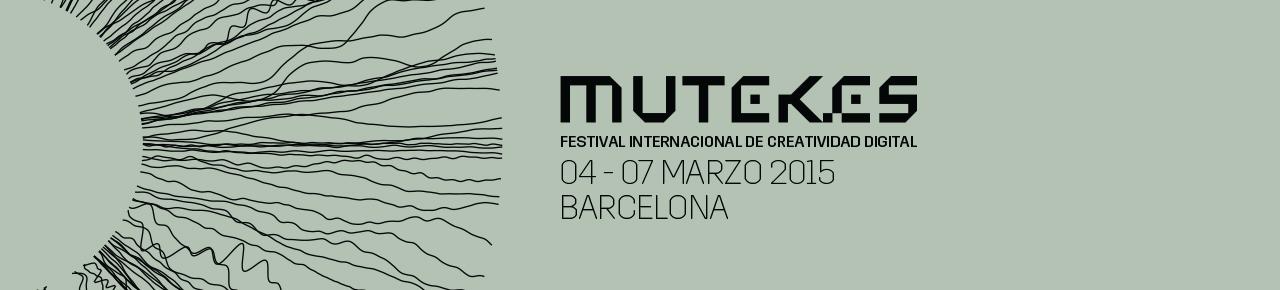 Festival Internacional Creatividad Digital, 6ª Edición del Festival Internacional de Creatividad Digital MUTEK[ES]