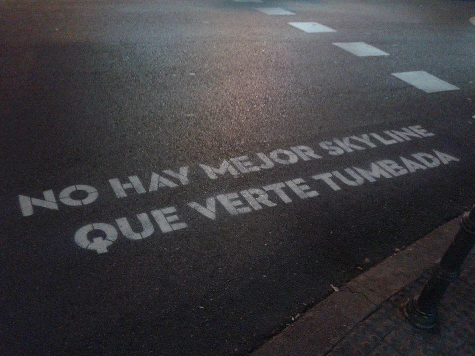 Poesía, Poesía en el asfalto de Madrid y en las redes sociales