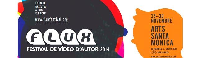 FLUX, Festival de vídeo de autor, FLUX 2014