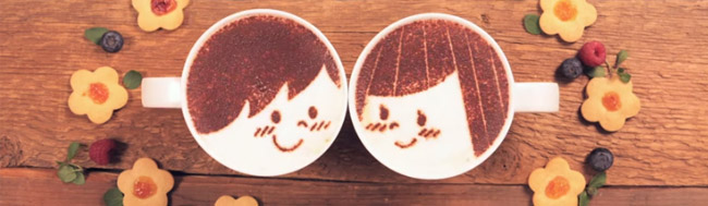 café, Latte Motion el anuncio de café que enamora