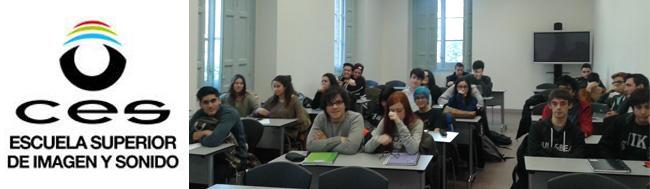 """redes sociales, """"Contando historias. Blogs, redes sociales y el contenido audiovisual"""" charla en la escuela CES"""