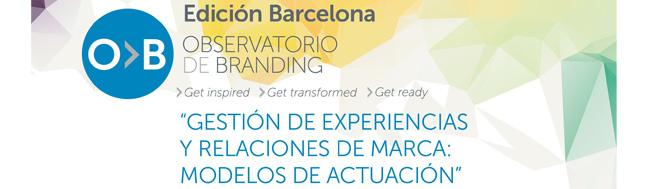 Observatorio de Branding, Se presenta el Proyecto Observatorio de Branding en Barcelona