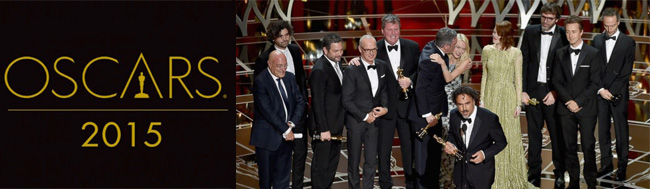 Oscar, Oscar 2015, Birdman y Gran Hotel Budapest empatan en premios