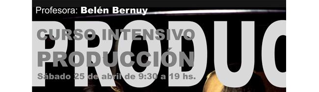 Belén Bernuy, Belén Bernuy impartirá un Curso Intensivo de Producción en Alicante