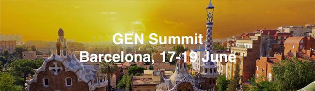 GEN Summit, Puedes seguir el GEN Summit 2015 en directo