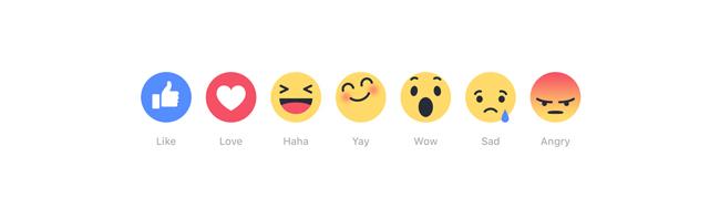Facebook Reactions, Facebook Reactions, los nuevos iconos para expresar emociones