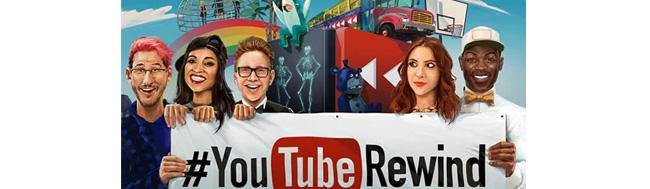 YouTube Rewind, YouTube Rewind nos enseña los vídeos más vistos en este 2015