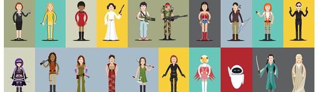 Mujer, Celebramos el Día Internacional de la Mujer con cine y televisión