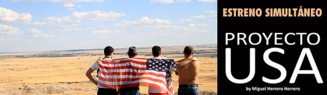 Proyecto USA, Estreno simultáneo de la película Proyecto USA