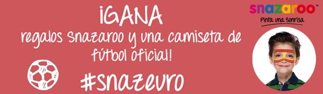 Eurocopa, Instagram + Eurocopa = concurso de Snazaroo a la vista