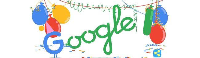 Google, Feliz cumpleaños Google