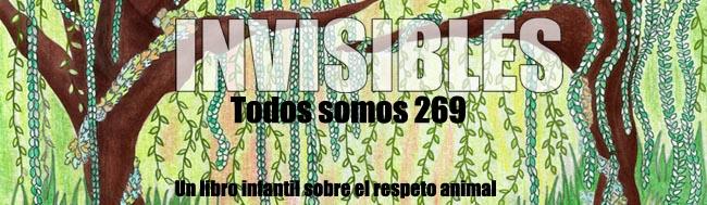 """Invisibles, todos somos 269, La Locomotora Editorial presenta la campaña de Crowdfunding para su cuarto libro """"Invisibles, todos somos 269"""""""