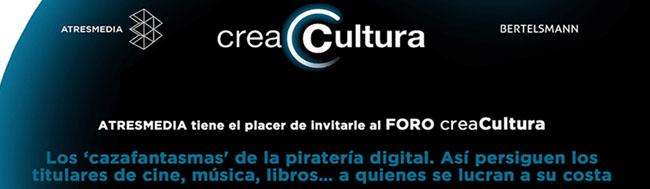 """piratería, No te pierdas el Foro CreaCultura: Los """"cazafantasmas"""" de la piratería digital"""