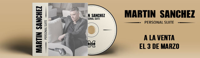 Martin Sánchez, Martin Sánchez debuta con su disco PERSONAL SUITE