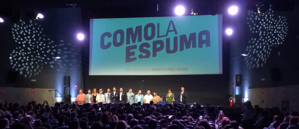 COMO LA ESPUMA, Estreno el 2 de junio: COMO LA ESPUMA, la nueva película de Roberto Pérez Toledo