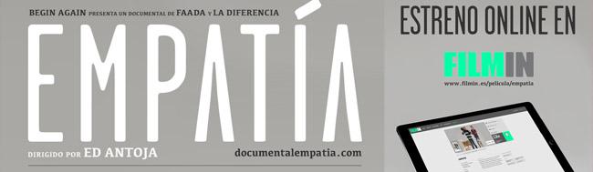 EMPATÍA, 16 de junio: Estreno Online del documental EMPATÍA en Filmin