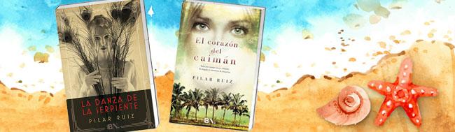 Pilar Ruiz, Los libros de Pilar Ruiz te acompañan este verano