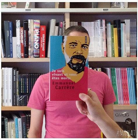 libros, Las portadas de los libros protagonistas del Instagram de una librería francesa
