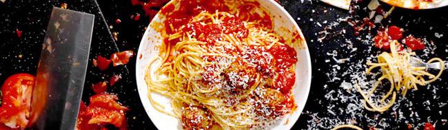 recetas, Tutoriales de recetas: hoy los espaguetis los hace Tarantino