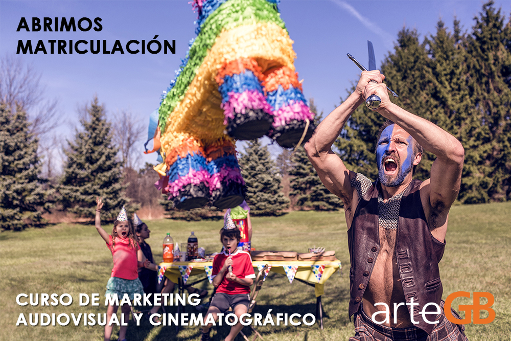 Audiovisual, Abierto el plazo para matricularte en nuestro curso de Marketing Audiovisual y Cinematográfico