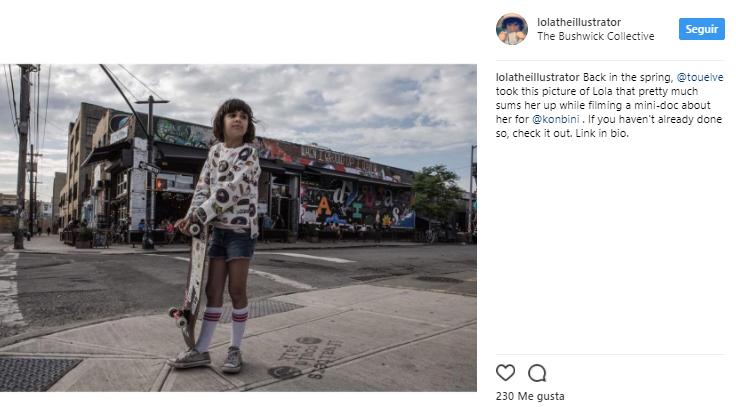 grafitera, Lola tiene 9 años y es la grafitera más joven del mundo