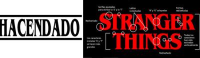 Tipografía Stranger Things