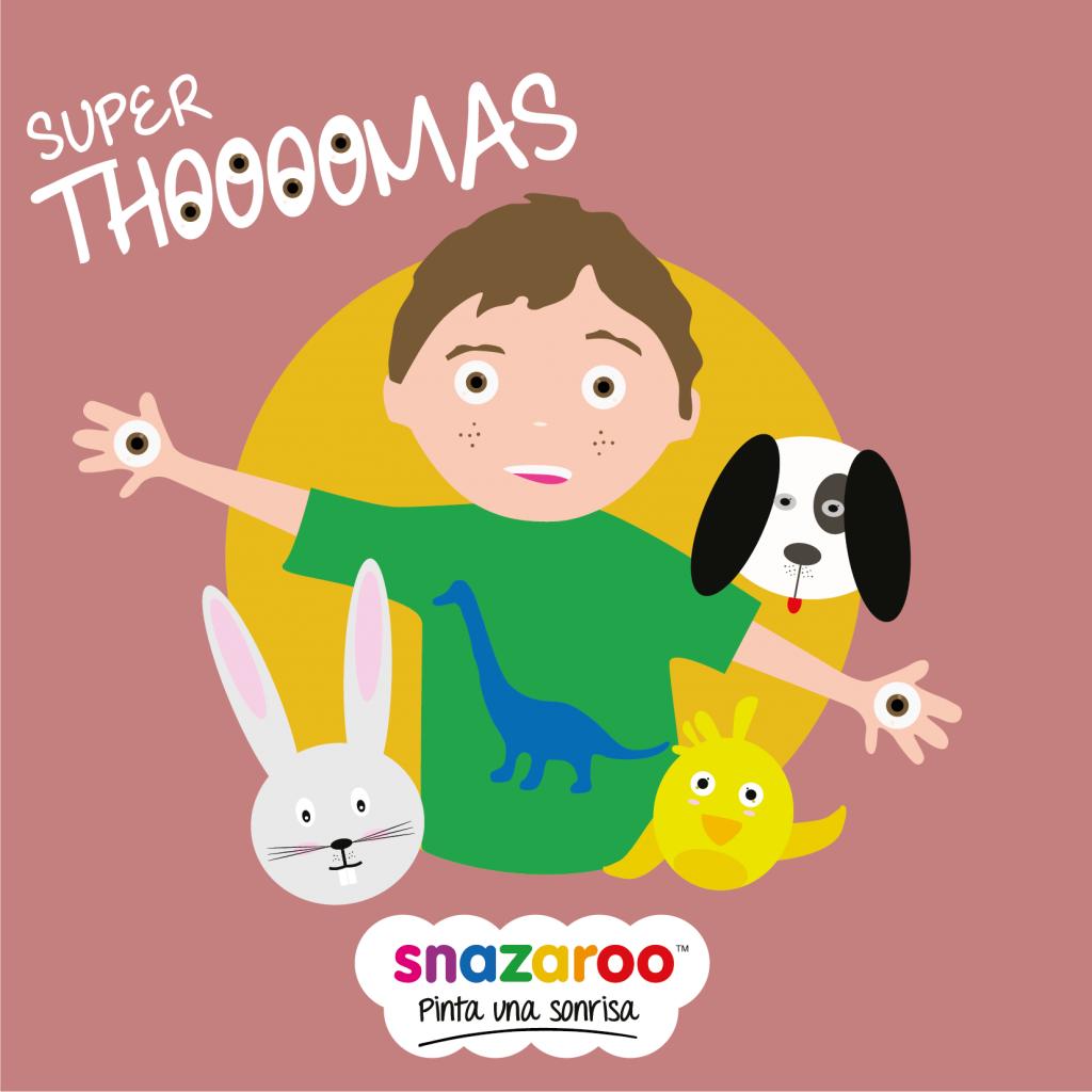 Día Internacional de la Infancia, Por el Día Internacional de la Infancia, te presentamos la campaña Snazaroo Por La Infancia