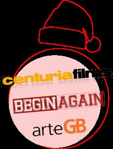 Navidad, Felices Fiestas de todo el equipo de ArteGB + Centuria Films + Begin Again Films