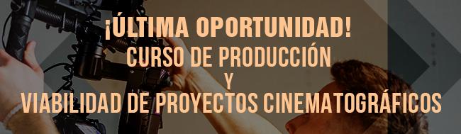 ArteGB Formación, ¡Última oportunidad! Curso de Producción y Viabilidad de Proyectos Cinematográficos