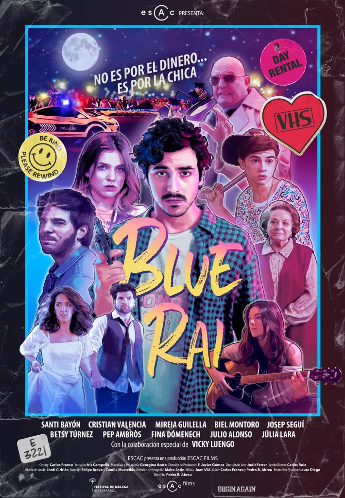 BLUE RAI, Queda un mes para el estreno de BLUE RAI, en cines el 13 de abril