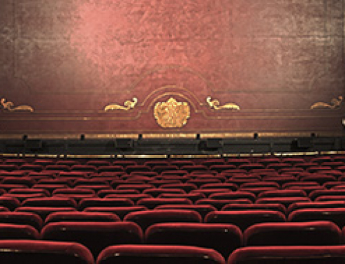 Por el Día Mundial del Teatro, adaptación teatral de 1984 en Madrid