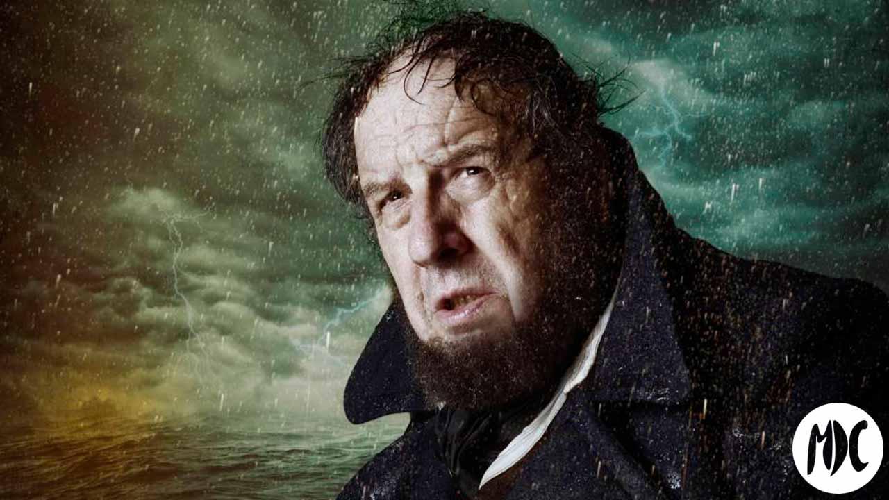 José Mª Pou es el Capitán Ahab en la versión dramática de Moby Dick de Juan Cavestany, dirigida por Andrés Lima. Actualmente de gira en nuestro país.