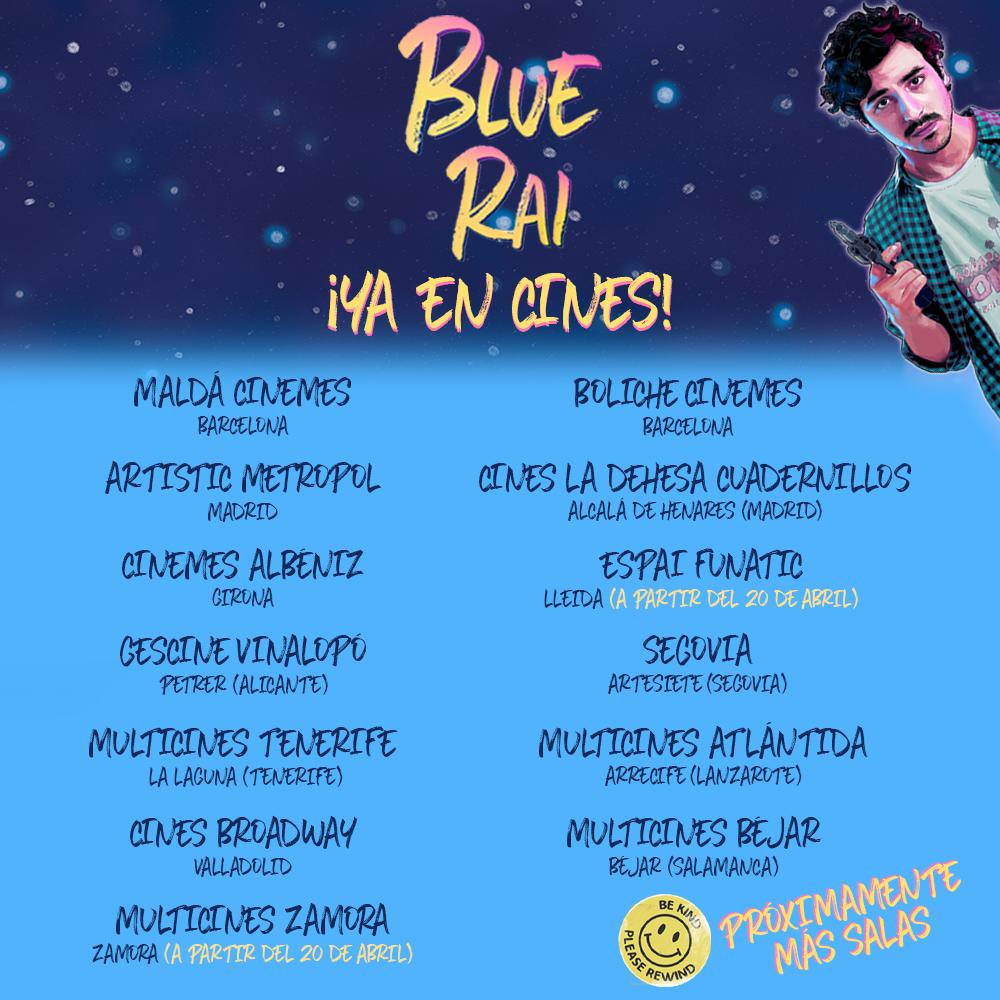 BLUE RAI, Llega a los cines BLUE RAI, la primera película de Pedro B. Abreu