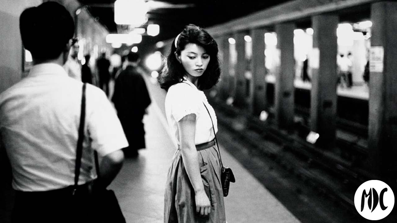 Ed van der Elsken. Girl in the subway, Tokyo [Chica en el metro, Tokio], 1981.