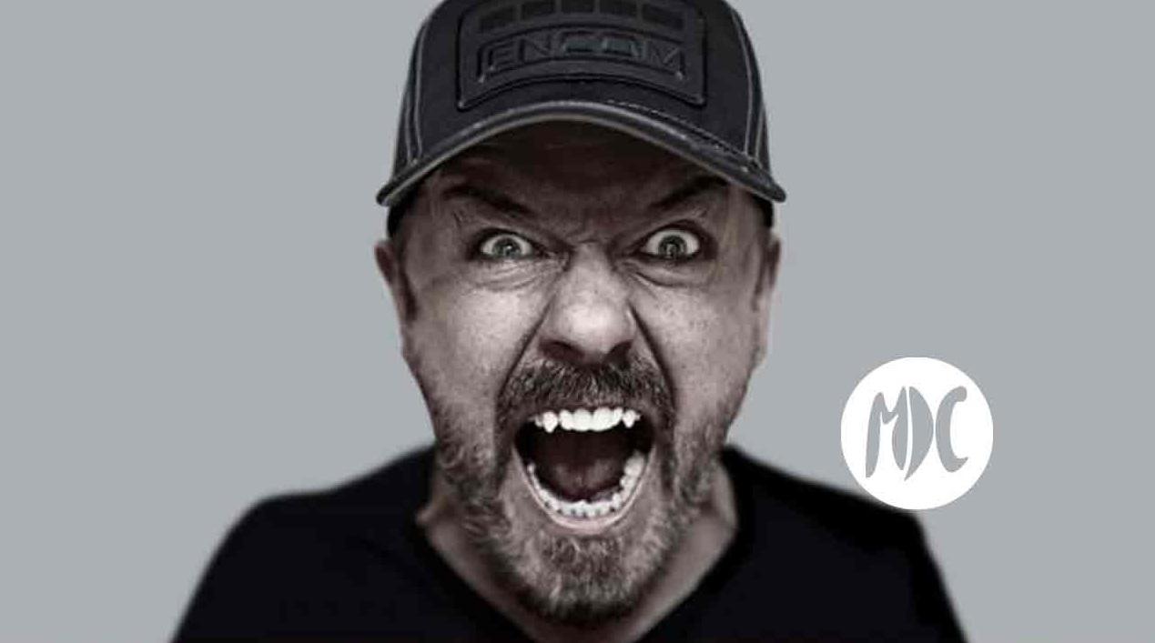 Ricky Gervais, La lengua afilada de Ricky Gervais habita en Netflix