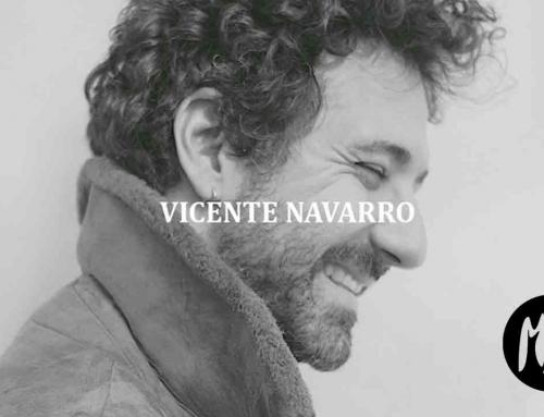 Vicente Navarro. Una voz emergente que busca cómplices en su aventura.