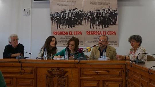 crimen de cuenca, Comienza el rodaje de Regresa el Cepa, sobre «El crimen de Cuenca»