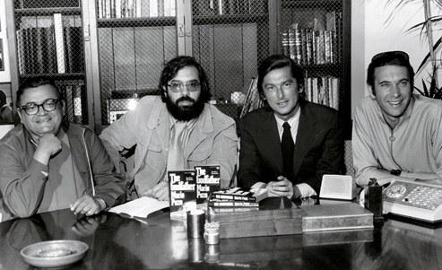 Puzzo, Coppola, Evans y Ruddy