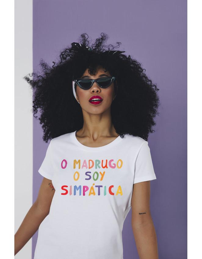 camiseta blanca, Este verano: camiseta blanca con mensaje
