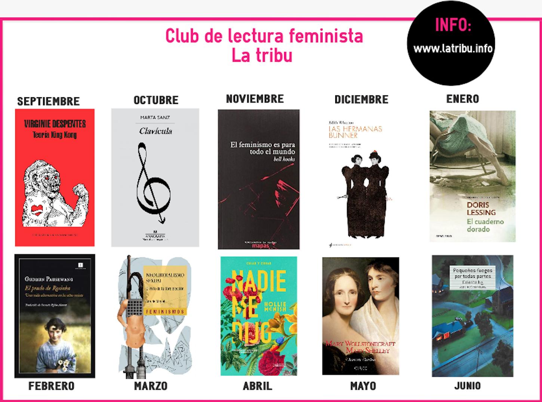 lectura, La Tribu, un club de lectura feminista