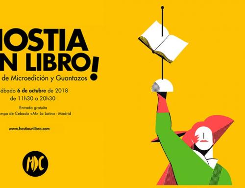 Hostia un libro 2018: 6 de octubre en Madrid